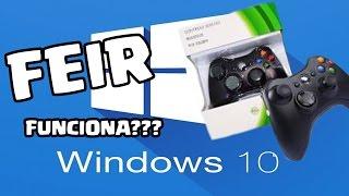 Controle FEIR funciona no Windows 10?