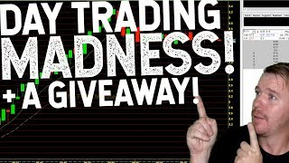 DAY TRADING MADNESS! 150% MOVER! $200 GIVEAWAY!