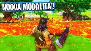 THE FLOOR IS LAVA! Nuova MODALITÀ di FORTNITE! | Fortnite Challenge ITA