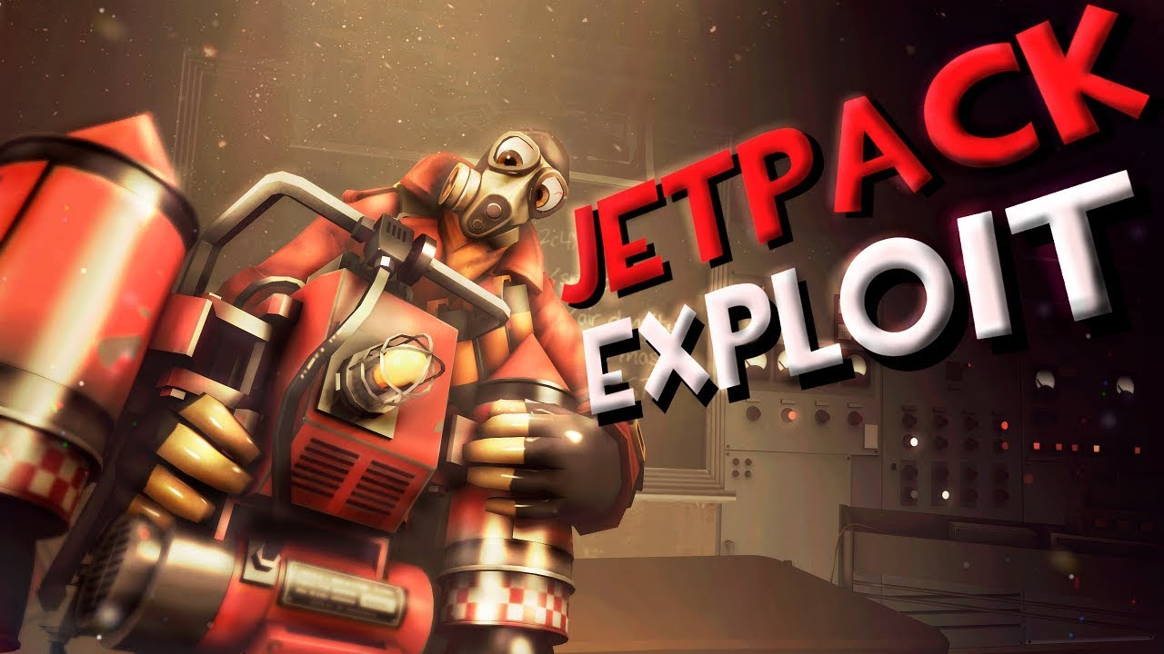 TF2: Jetpack Exploit (Pyro Thermal Thruster Exploit) [4k]