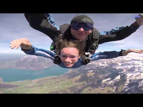 Skydiving Over Interlaken!!!