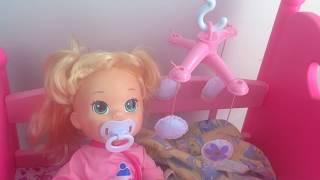 ❀ Куклы Пупсики Бэби Элайв Видео Играем в дочки матери Игрушки для Девочек Сопли Baby Alive  Doctor