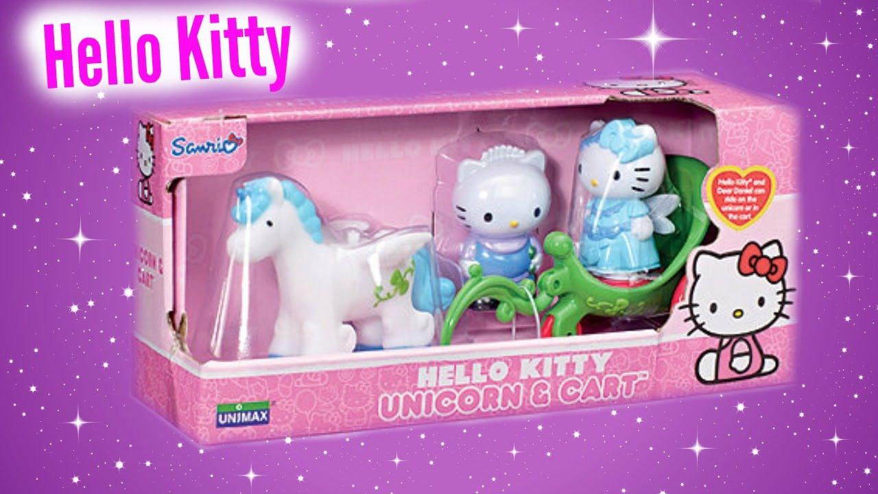 Hello Kitty Unicorn Cart Toy Unboxing   YouTube