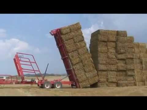 Погрузка сена трактором Мтз 80 - YouTube