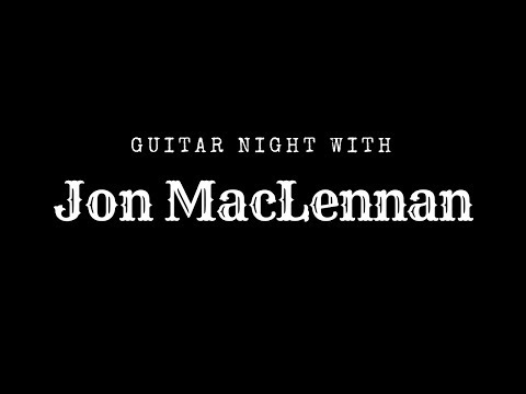 Jon MacLennan Live in Santa Monica October 20th, 2017