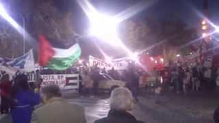 Acto a favor de Palestina. San Juan - Argentina 8/8/2014