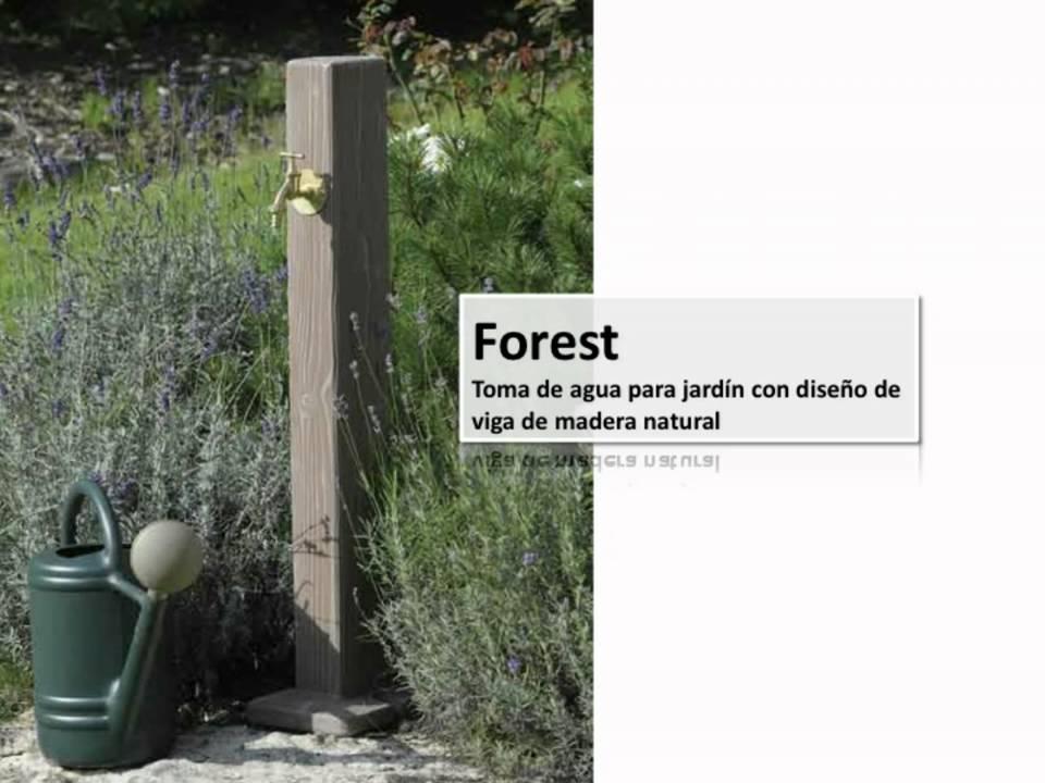 Fuentes de agua para su jardin youtube for Fuentes de jardin