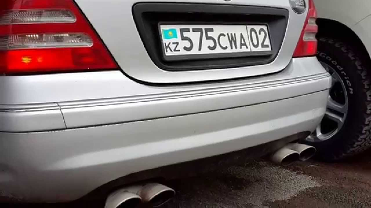 Mercedes c32 amg exhaust 05 youtube mercedes c32 amg exhaust 05 publicscrutiny Image collections