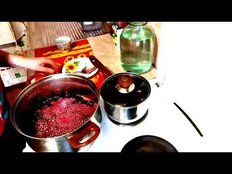 Как сварить вишневое варенье без косточек, рецепт.