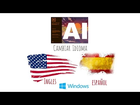 Tutorial de Adobe Illustrator CC 2017 - Cambiar Idioma de Ingles a Español (Version Windows)