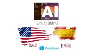 Tutorial de Adobe Illustrator CC 2017.0.0  - Cambiar Idioma de Ingles a Español (Version Windows)
