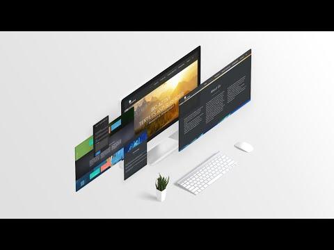 Верстка сайта LP для новичков часть №1 HTML + CSS + JS