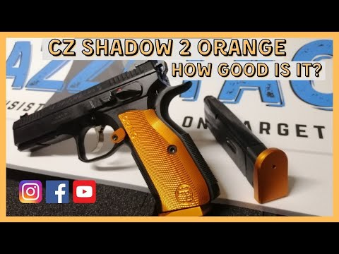 CZ Shadow 2 Orange Unboxing