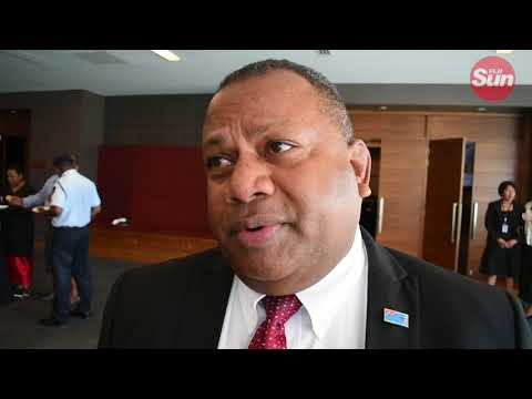 Fiji National Disaster Management Council Chairman Inia Seruiratu