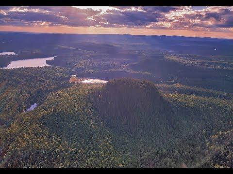 Teapot Mountain & Summit Lake, Prince George, BC, Canada , June 2017 [Aerial Drone 4K]