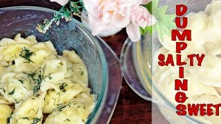 Dumplings with farmer cheese recipe/ Simple cooking with Julia Ride