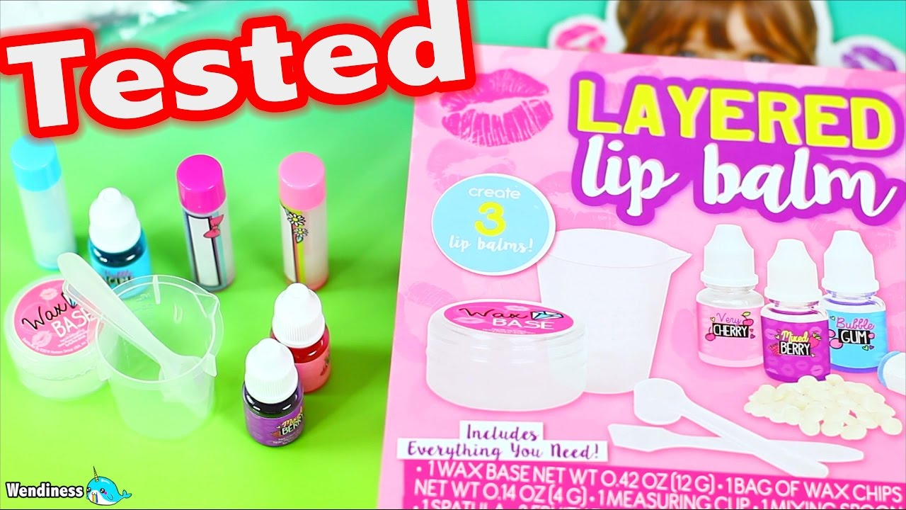 Diy Layered Lip Balm Kit Tested Does It Work