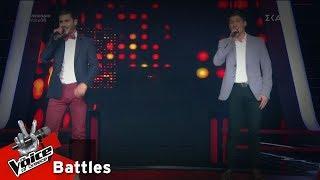 Μάριος Παστελλής vs Στέλιος Μοσχοτόγλου - Μωρό μου | 1o Battle | The Voice of Greece