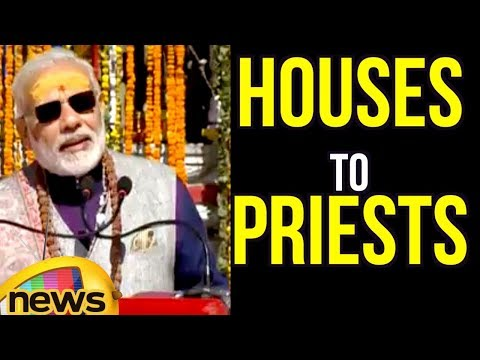 PM Modi Over Construction Of Houses To Priests Of Kedarnath Temple | Mango News