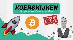 Bitcoin Analyse: 'Schiet BTC vandaag door naar $9.800? Koers BTC consolideert'