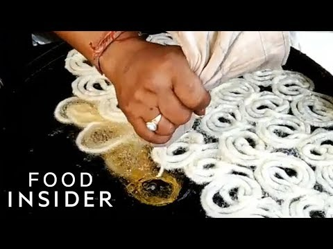 India's Favorite Street Treat Is A Sugary Swirl