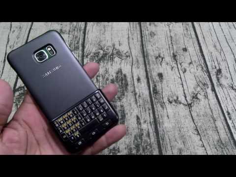 Samsung Galaxy S7 Edge Keyboard Case