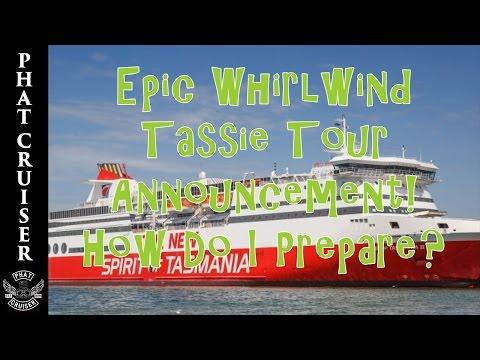 Epic Whirlwind Tassie Tour Announcement