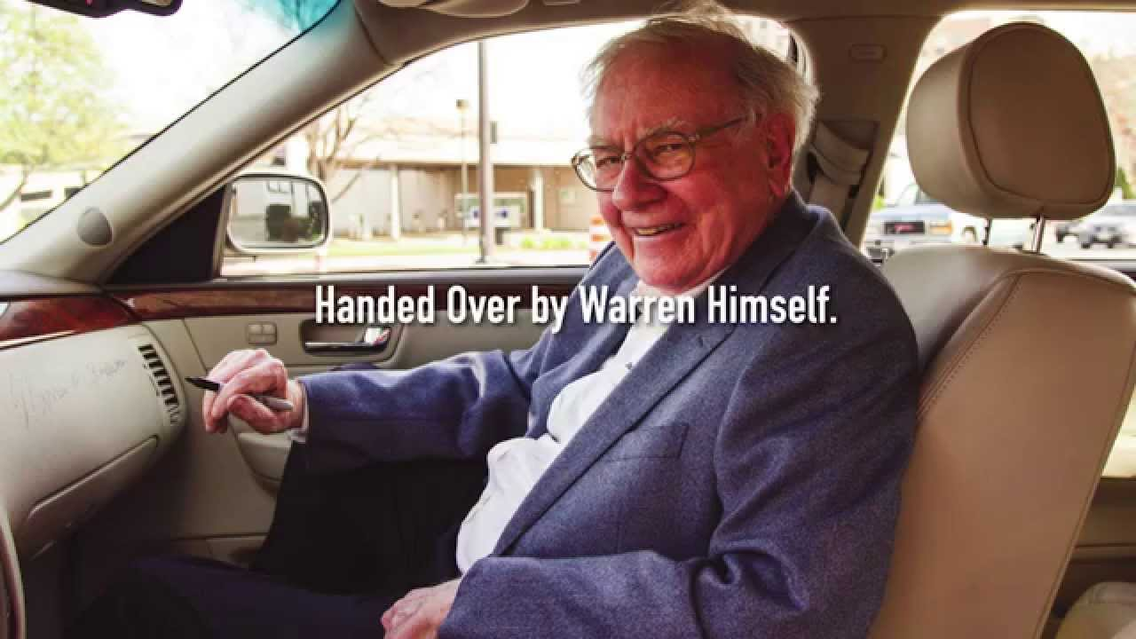 Buffet Buys New Car