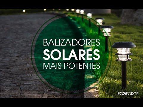 ECOFORCE - BALIZADORES SOLARES MAIS POTENTES