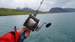 Catch and Cook and Camp!! Survival Ocean Fishing!