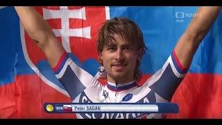 Peter Sagan, majster sveta! (posledných 5 km) | HD 720p, ČT sport
