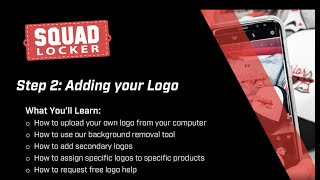 Step 2: Adding your Logo
