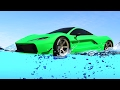 DRIVING ON WATER WITH SUPER CARS! (GTA 5 Funny Moments)