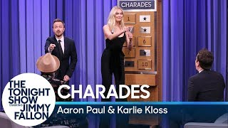 Charades with Aaron Paul and Karlie Kloss by : The Tonight Show Starring Jimmy Fallon