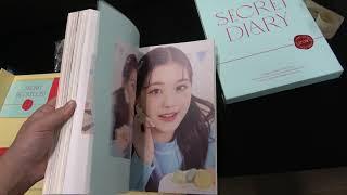 아이즈원 시크릿 다이어리 언박싱 IZONE Secret Diary unboxing 4K
