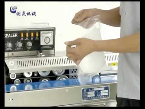 FRM 1100W Ink-Roll Coding Continuous Bag Sealer