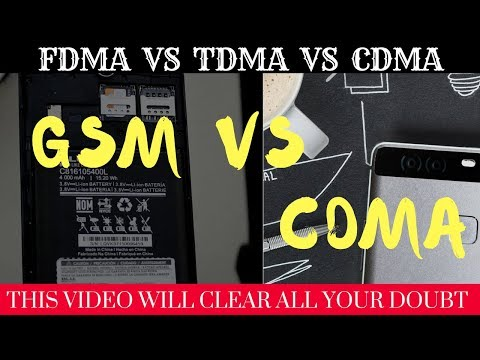 GSM and CDMA in Hindi | Difference between gsm vs cdma | Mobile Computing