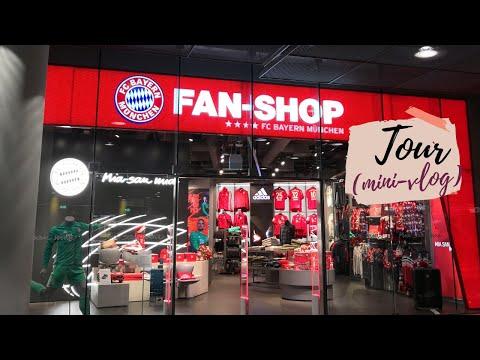 FC BAYERN FANSHOP MÜNCHEN FLUGHAFEN (MUNICH AIRPORT) TOUR