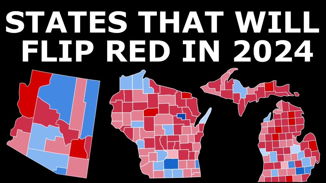 The FIVE States Republicans Can FLIP in 2024 to Retake the White House