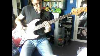 Porcupine Tree - Cheating the Polygraph (Live) [Bass cover]