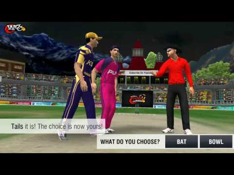 26th April KOlkata Knight Riders V RIsing Pune SuperGiants  World Cricket Championship 2017 Gameplay