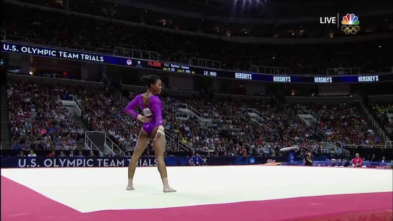 Gabby Douglas Floor Exercise 2016 Olympic Trials 2016 Day