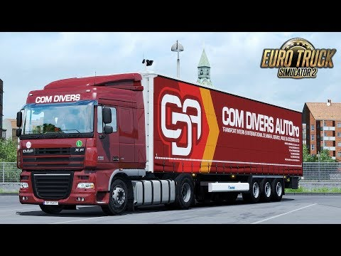 ✅ ETS2 - DAF XF105 COM DIVERS AUTO delivery to the UK