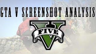 GTA V - Motorbikes, parachutes, and tennis: screenshot analysis
