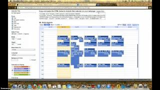 Adding Calendar to Weebly