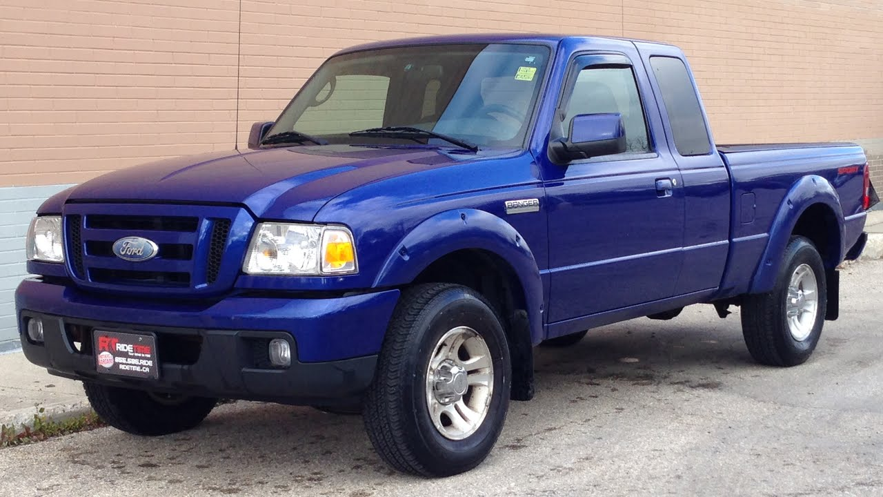 2006 Ford Ranger Stx Fog Lights V6 Supercab For Sale