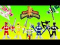 Imaginext Power Rangers Toys Red Ranger Black Ranger Green Ranger Blue Ranger Pink Ranger Yellow