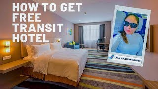 How to get FREE transit hotel with China Southern Airlines | Guangzhou Layover Guide