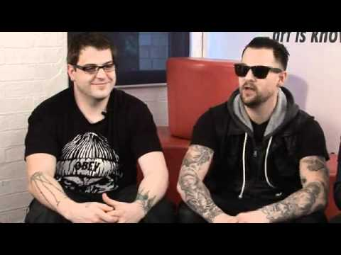 Joel & Paul from Good Charlotte on Hit List TV
