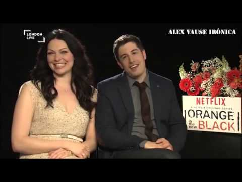 Orange is the New Black's Laura Prepon and Jason Biggs Interview